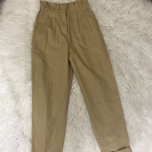 Forever 21 Paperbag Pants Size Xs Beige